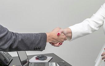 Hand shake conveyancing